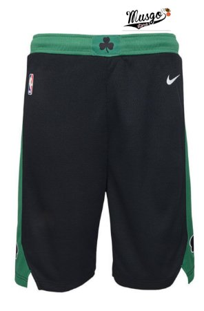 Bermuda Basquete NBA Boston Celtics Preta