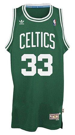 87ef1476b Camiseta Regata Basquete NBA Swingman Classics Boston Celtics Larry Bird  33