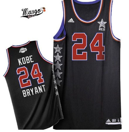 Camiseta Regata  Basquete  NBA All Star Game Toronto 2015 Kobe Bryant #24