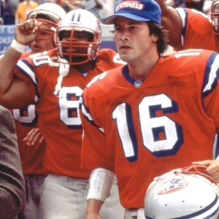 Jersey FA filme Os Substitutos Washington sentinels Shane Falco #16