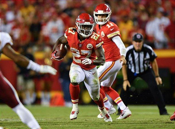 Camisa Futebol Americano NFL Kansas City Chiefs Kareem Hunt #27