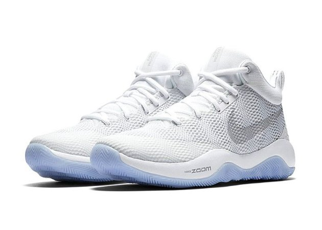 Tenis Basquete Nike Zoom Rev White