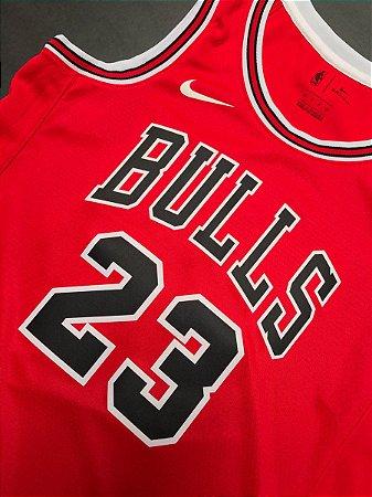 Camiseta Regata Basquete NBA Swingman Chicago Bulls Red Michael Jordan #23