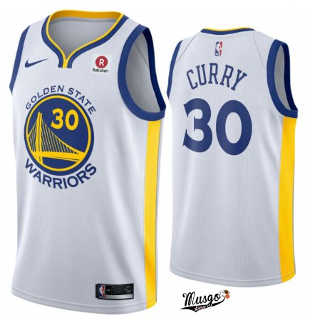 Camiseta Regata Basquete  NBA Golden State Warriors Steph Curry #30