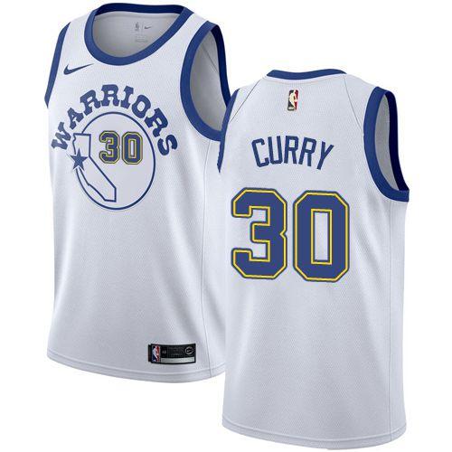 Camiseta Regata Esportiva Basquete  NBA Warriors retro Curry Numero 30 Branca