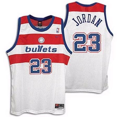 Camiseta Regata Basquete  NBA Classics Washington Bullets Michael Jordan #23