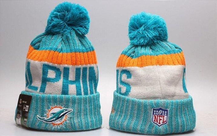 Gorro Esportivo Futebol Americano NFL Miami Dolphins