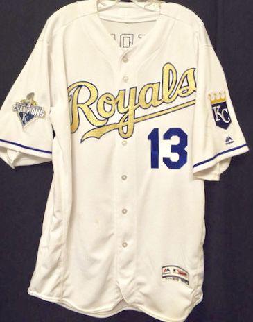 Camisa Baseball MLB Kansas City Royals Salvador Perez #13