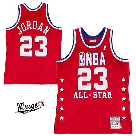Camiseta Regata  NBA Regata Swingman All Star 1989 Michael Jordan #23
