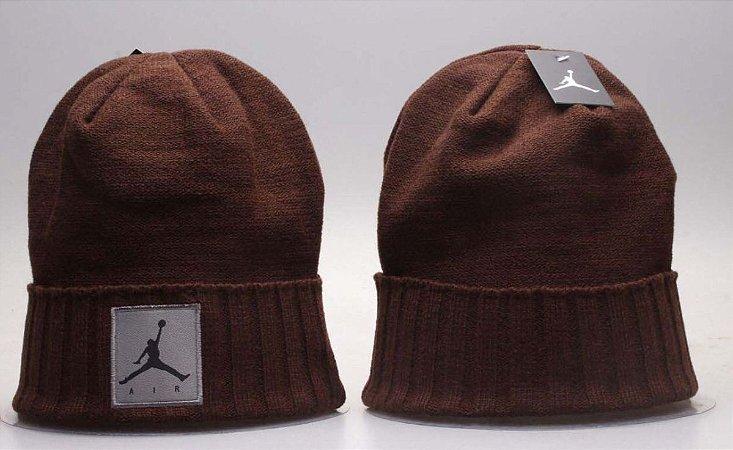 Gorro Nike Air Jordan Logo Marron