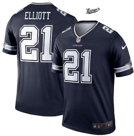 Camisa NFL Dallas Cowboys Ezequiel Elliot #21 blue