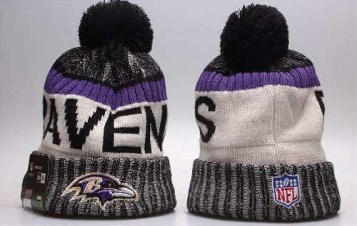 Gorro Futebol Americano NFL Baltimore Ravens