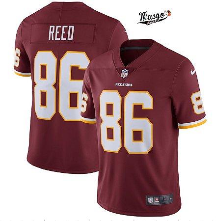 Camisa Esportiva Futebol Americano NFL Washington RedSkins Jordan Reed Numero 86