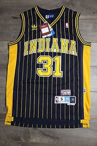 Camiseta Regata Basquete NBA Indiana Pacers Reggie Miller #31 black