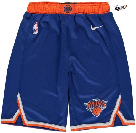 Bermuda Esportiva Basquete NBA New York Knicks Azul