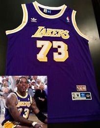 Camiseta Regata Basquete NBA Los Angeles Lakers Denis Rodman #74