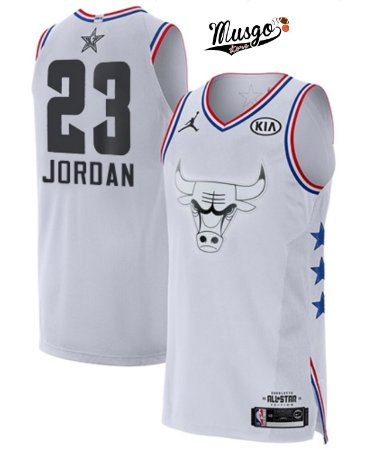 88be294a097 Camiseta Regata Basquete NBA All Star Game 2019 Chicago Bulls Michael Jordan   23 Branca