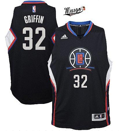 Camiseta Regata Basquete NBA Los Angeles Clippers Blake Griffin Número 32