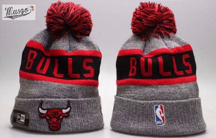 Gorro Basquete NBA Chicago Bulls Cinza
