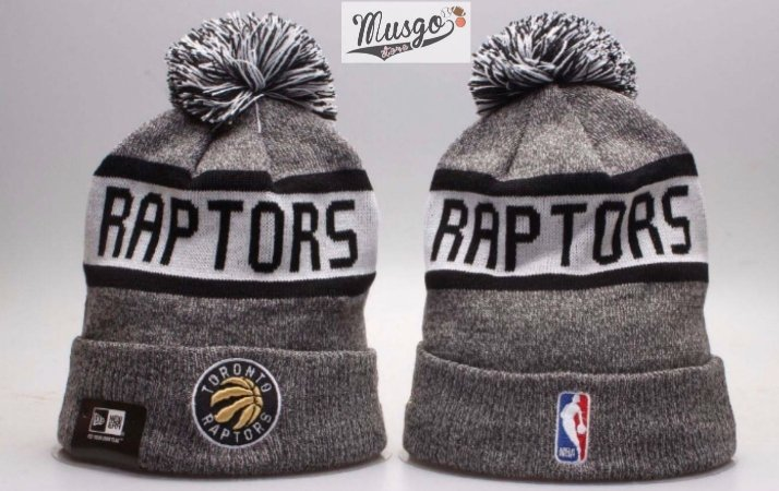 Gorro esportivo Basquete NBA Toronto Raptors Cinza e preto