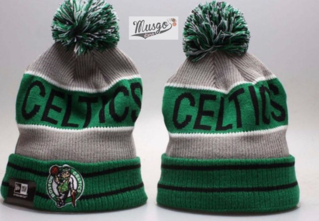 Gorro Esportivo Basquete NBA Boston Celtics Verde e Cinza