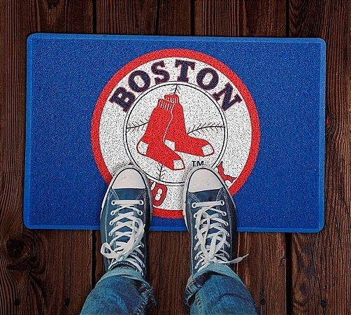 Tapete Capacho Esportivo Baseball MLB Boston Red Sox