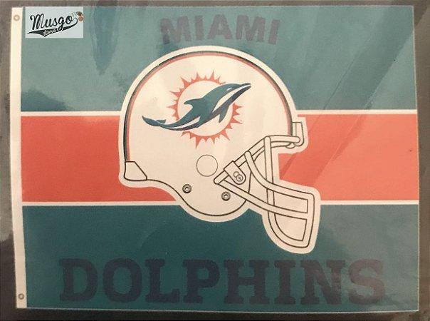 Bandeira Esportiva Futebol Americano NFL Miami Dolphins