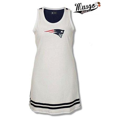 Vestido Esportivo Futebol Americano NFL New England Patriots