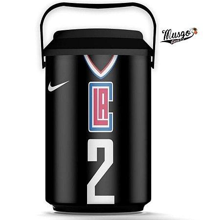 Cooler Esportivo Basquete NBA Los Angeles Clippers Kawhi Leonard Preto