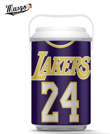Cooler Esportivo Basquete Los Angeles Lakers Kobe Bryant Numero 24 Roxa