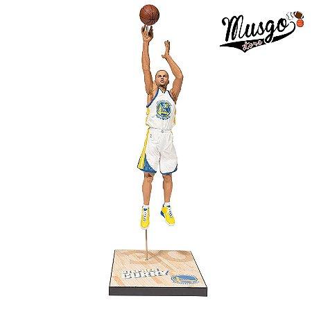 Boneco Miniatura Basquete NBA Golden State Warriors Stephen Curry Número 30
