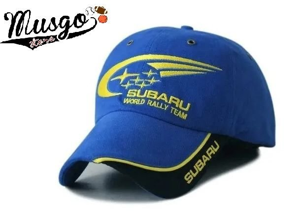 Bone Esporte World Rally Team Subaru Azul