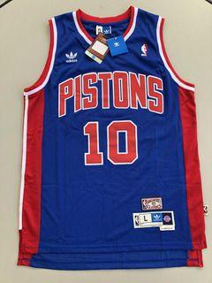 Camisa NBA Detroit pistons Rodman azul GG