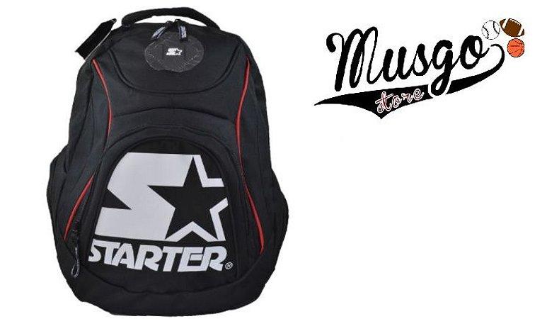 Mochila Esporte Starter Logo Black Label Preta
