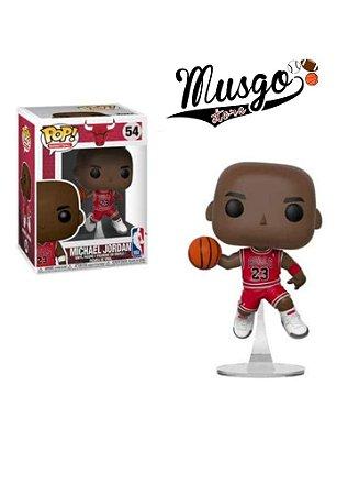 Boneco Funko Pop Esporte  Basquete Chicago Bulls Michael Jordan Número 23