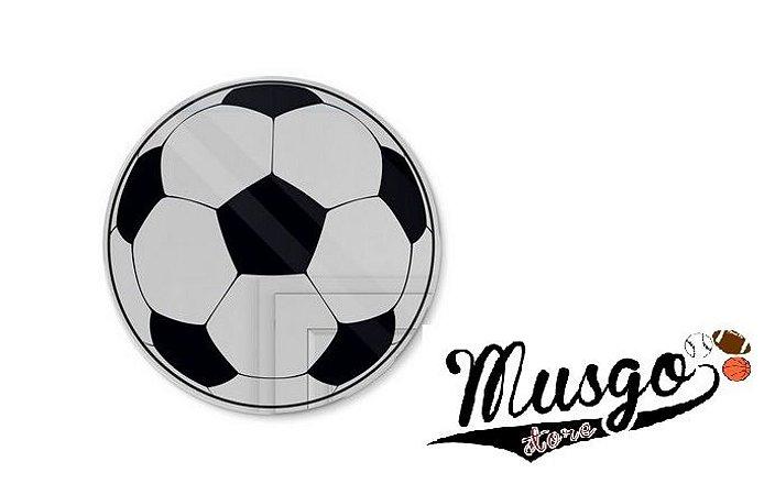 Espelho Decorativo Acrílico Esporte Bola de Futebol
