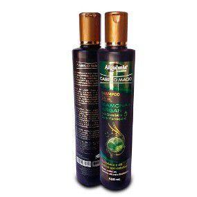 Kit Shampoo e Condicionador de Mamona e Argan