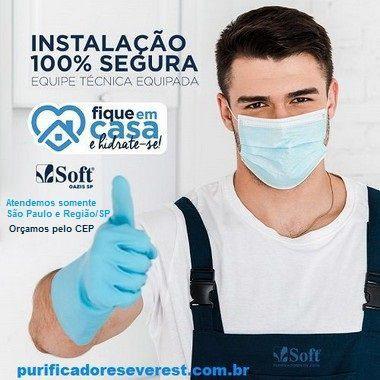 Instalação de Filtro (Refil-Vela) Soft