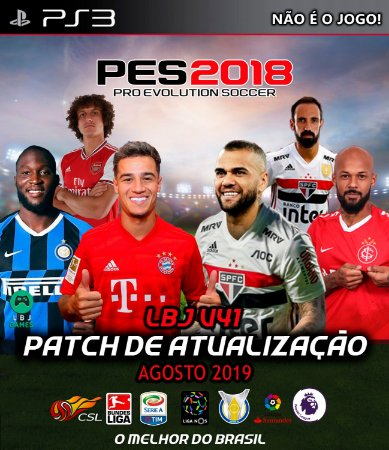 LBJ PATCH V41 - PATCH PARA PES 2018 DO PS3