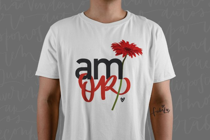 Camisa Unissex: Amor
