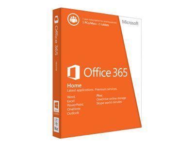 MICROSOFT OFFICE 365 HOME – 5 LICENÇAS (PC, MAC, ANDROID OU IOS) + 5 TB DE HD VIRTUAL – ESD