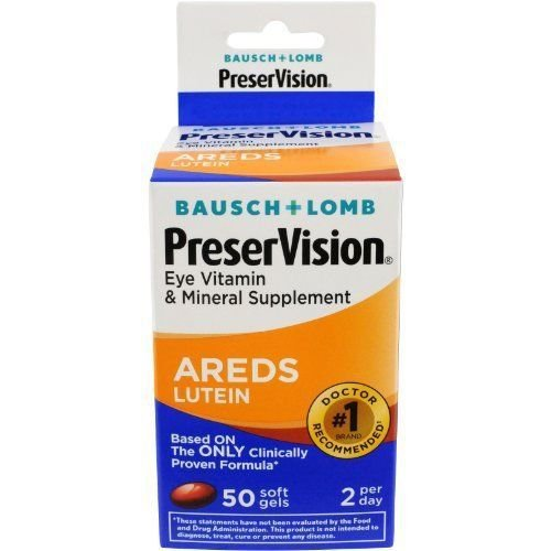Luteina Preservision Areds Eye Vitamin Mineral