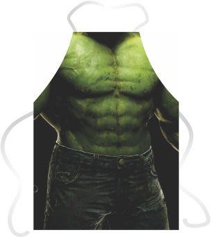Avental Divertido Hulk