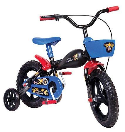 Bicicleta Infantil Moto Bike Aro 12 - Styll Kids