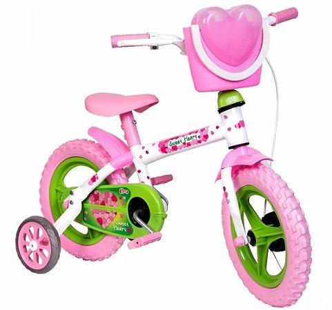 Bicicleta Infantil Sweet Heart Aro 12 - Styll Kids