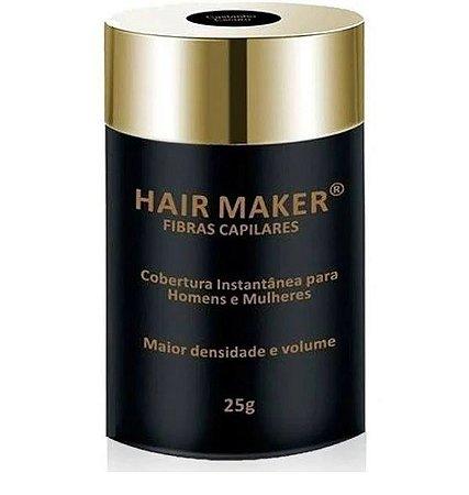 Hair Maker Fibras Capilares - Frasco com 25 Gramas