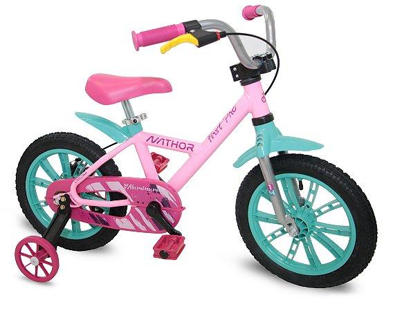 Bicicleta Aro 14 First Pro Feminina - Nathor