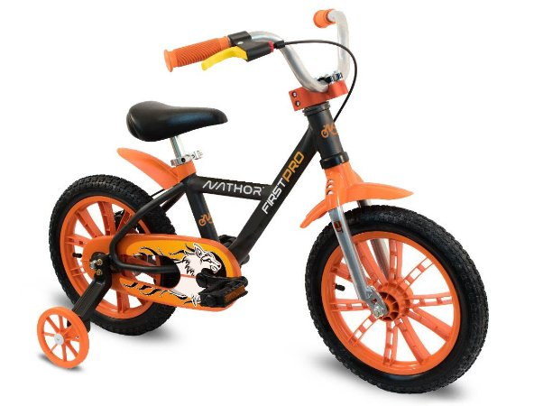 Bicicleta Aro 14 First Pro Masculina - Nathor