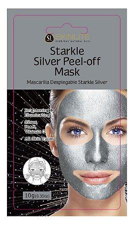 Kit 3 Unids Máscara Facial Starkle Peel-off De Prata - Skinlite