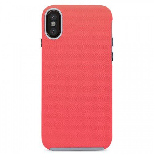 Case Dupla Antichoque Strong Duall Coral - iPhone X